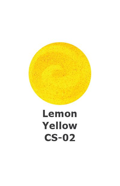 and Art Colour Sand - Lemon Yellow