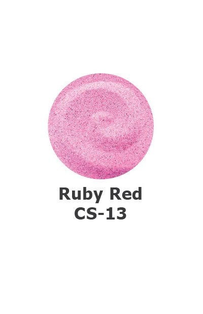and Art Colour Sand - Ruby Red