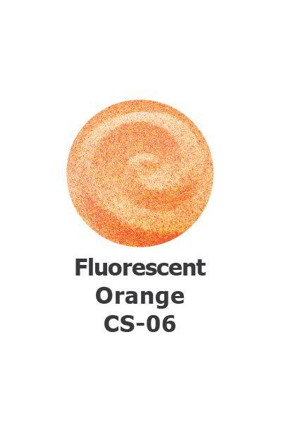 Fluorescent Orange Colour Sand