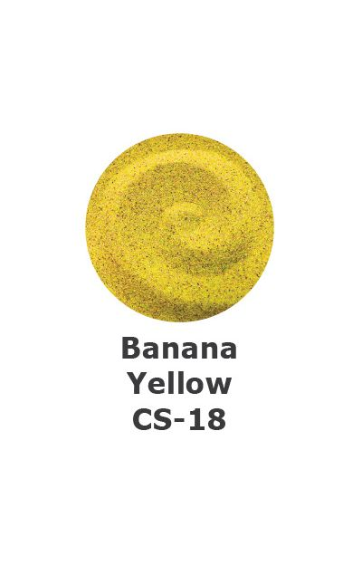 and Art Colour Sand - Banana Yellow