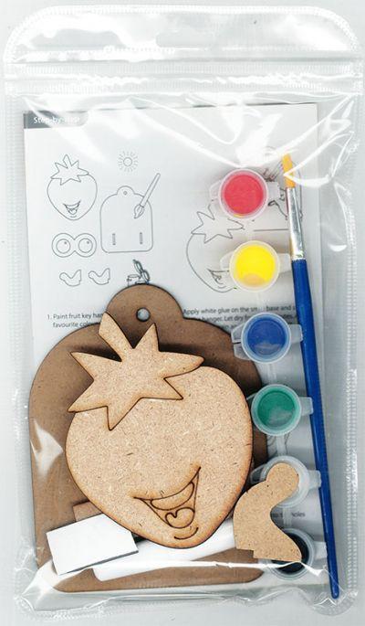 3D Fruit Key Hanger Kit - Packaging Back
