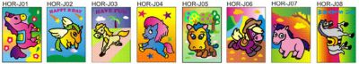 Sand Art Horse and Unicorn - Medium