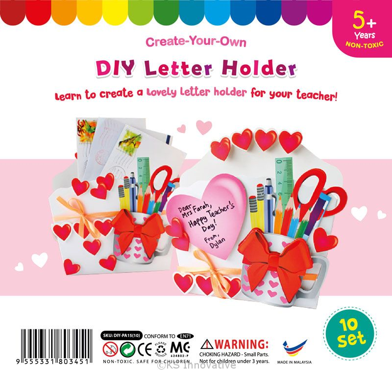 Teachers day letter holder pack of 10 spiritdancerdesigns Choice Image