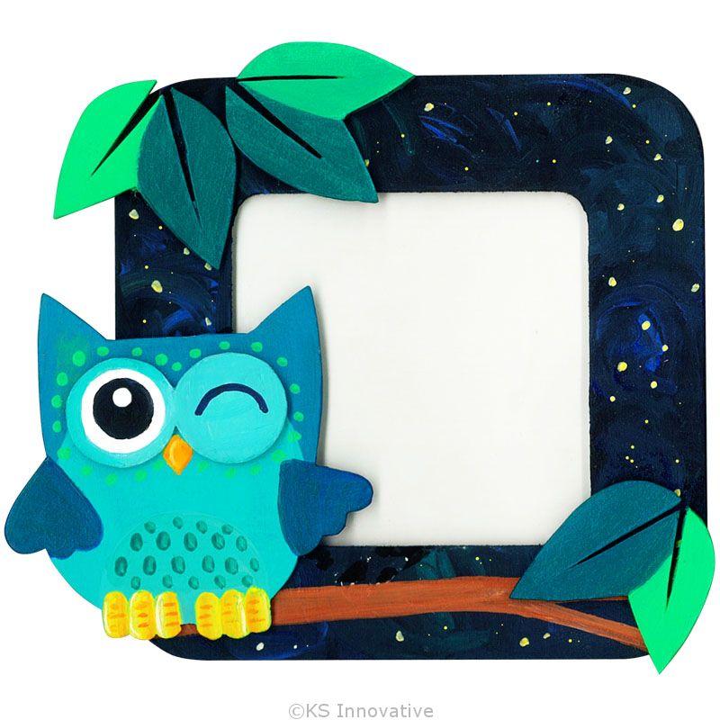 DIY 3D Photo Frame Kit - Baby Owl